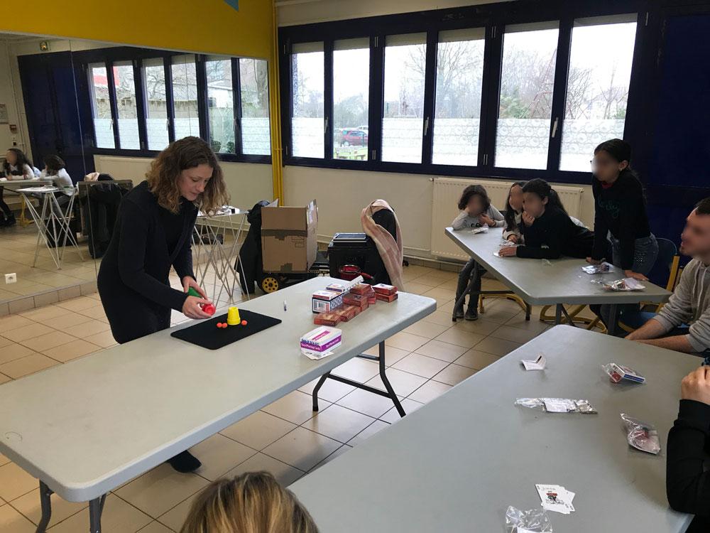 Atelier magie en Sarthe