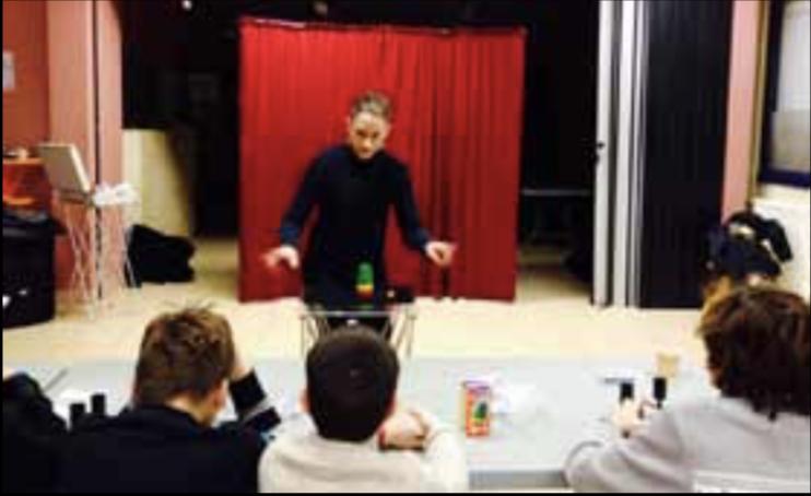stage de magie en Sarthe