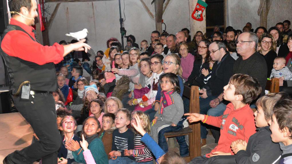 Spectacle pour une association en Sarthe