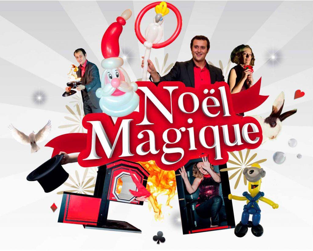 Plaquette Noël Magique